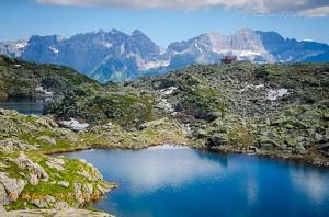Zona dei 5 laghi sopra Madonna di Campiglio