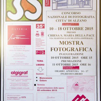 Locandina del 35° Concorso Nazionale Città di Alzano